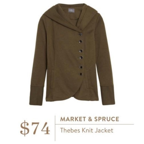 Market & Spruce Tops - NWT Stitch Fix Market & Spruce Thebes Jacket